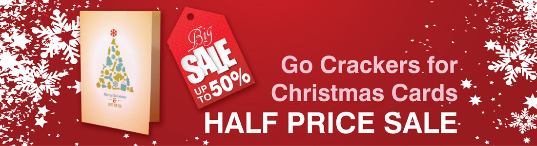 Half Price SALE! Christmas Cards