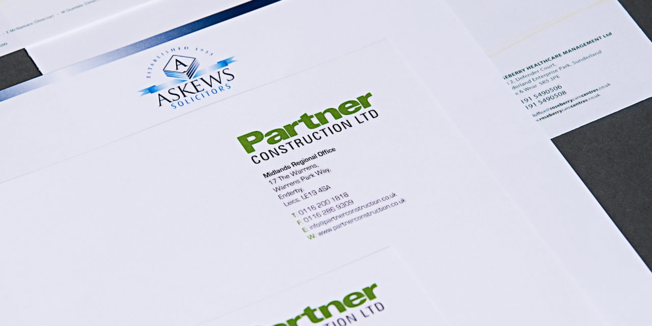 Why a high quality letterhead is vital for your business