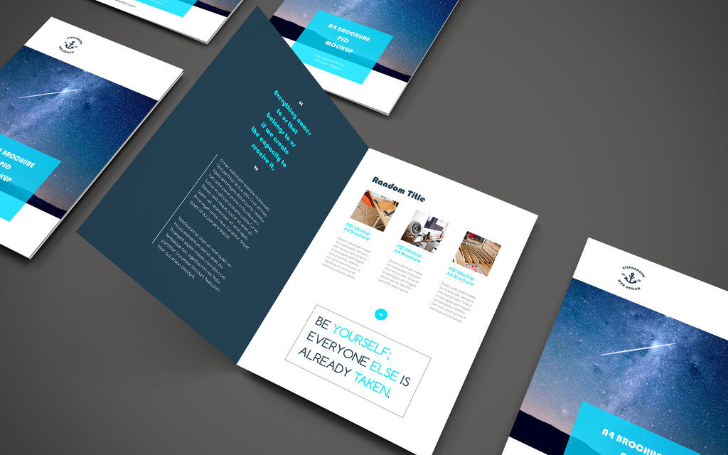 A guide to printed and digital brochures.