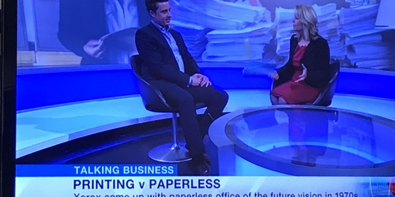 BBC Talking Business: Printing V Paperless