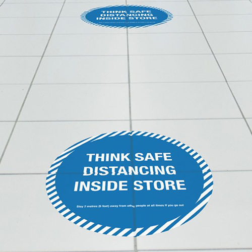 NEW PRODUCT: Branded Floor Vinyl Graphics